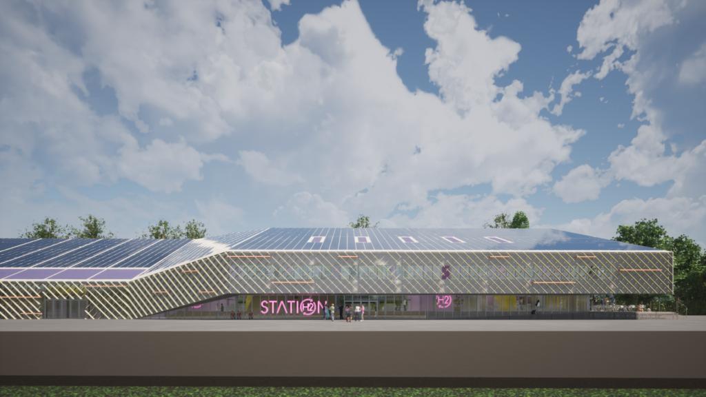 HADRICOURT STATION WALL E+